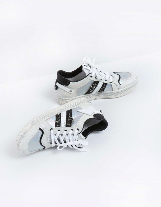 נעלי נשים - A.S. 98 - סניקרס AS YONG - לבן
