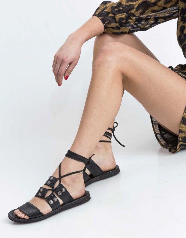 נעלי נשים - A.S. 98 - סנדל RAMOS קולר - שחור