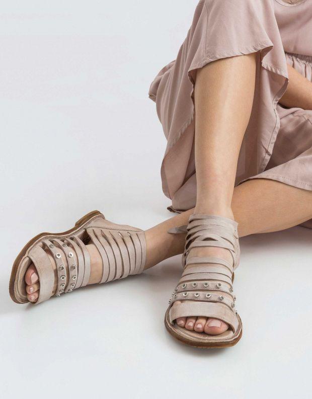 נעלי נשים - A.S. 98 - סנדל MALIBU רצועות דקות - אפור