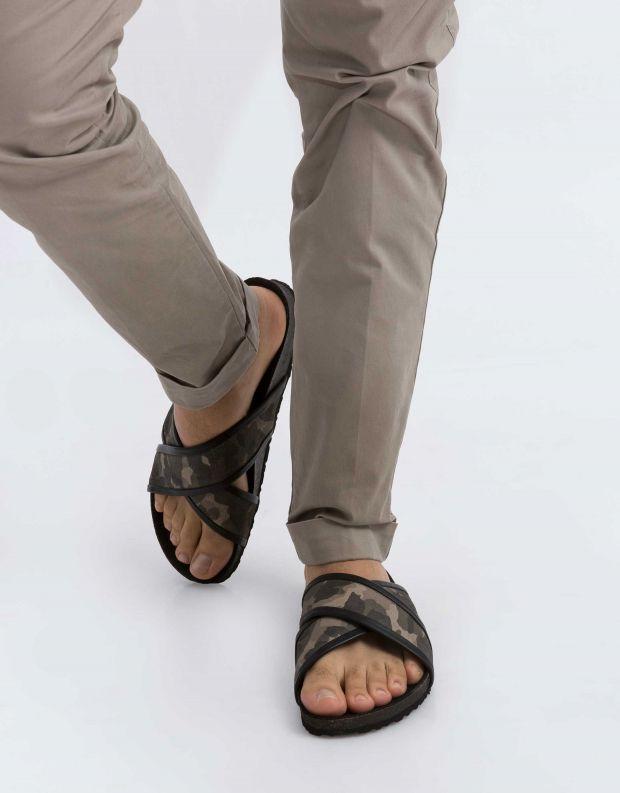 נעלי גברים - Sneaky Steve - קבקב CROSSER - צבאי