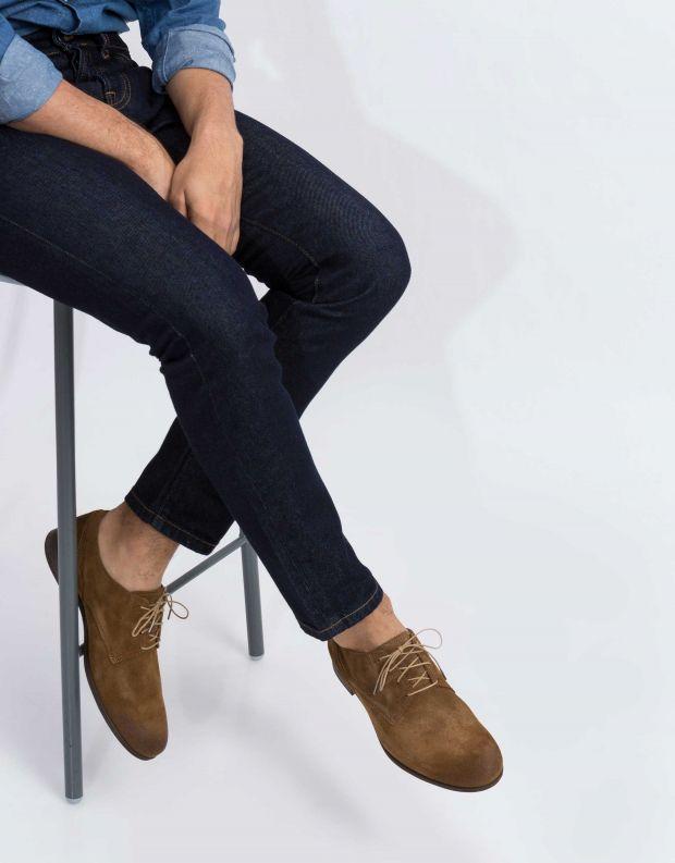 נעלי גברים - Sneaky Steve - נעל DIRTY LOW SUEDE - חום