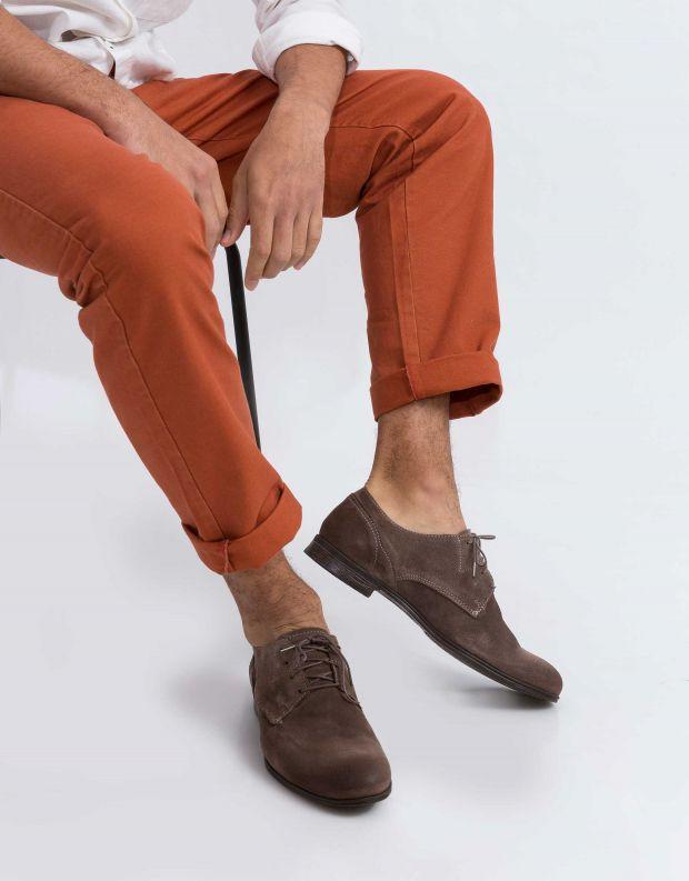 נעלי גברים - Sneaky Steve - נעל DIRTY LOW SUEDE - אפור