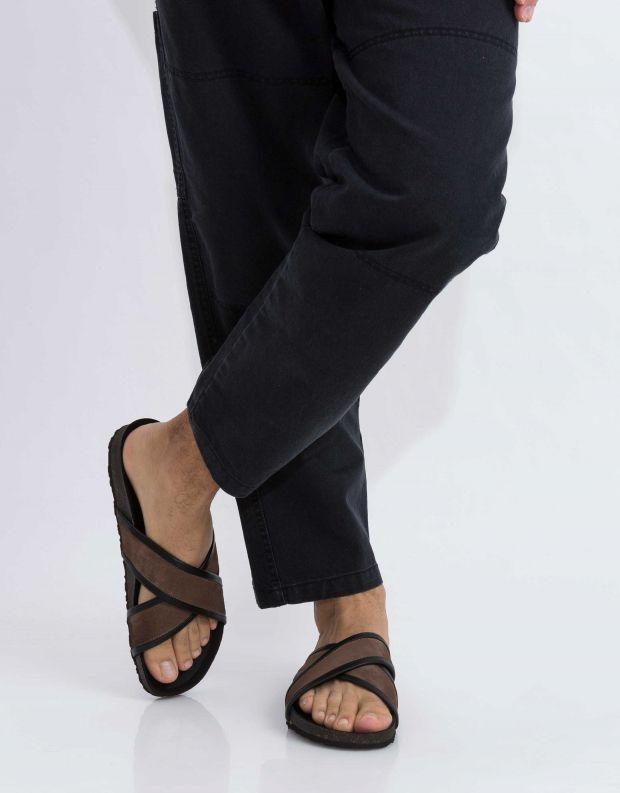 נעלי גברים - Sneaky Steve - קבקב CROSSER - חום