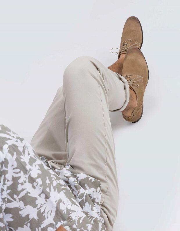 נעלי גברים - Sneaky Steve - נעל DIRTY LOW SUEDE - בז'