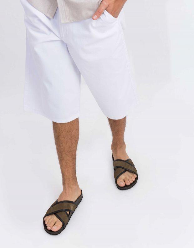 נעלי גברים - Sneaky Steve - קבקב CROSSER - חאקי