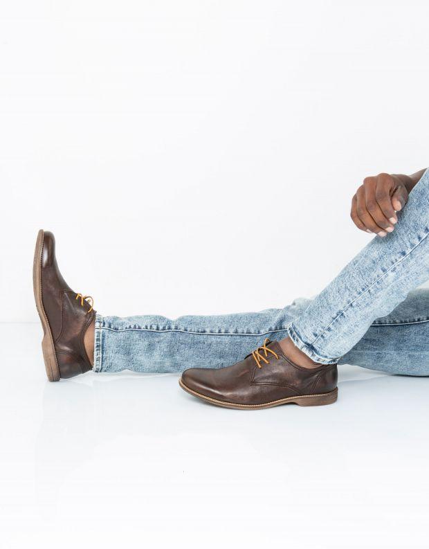 נעלי גברים - Sneaky Steve - נעל FALL LOW - חום
