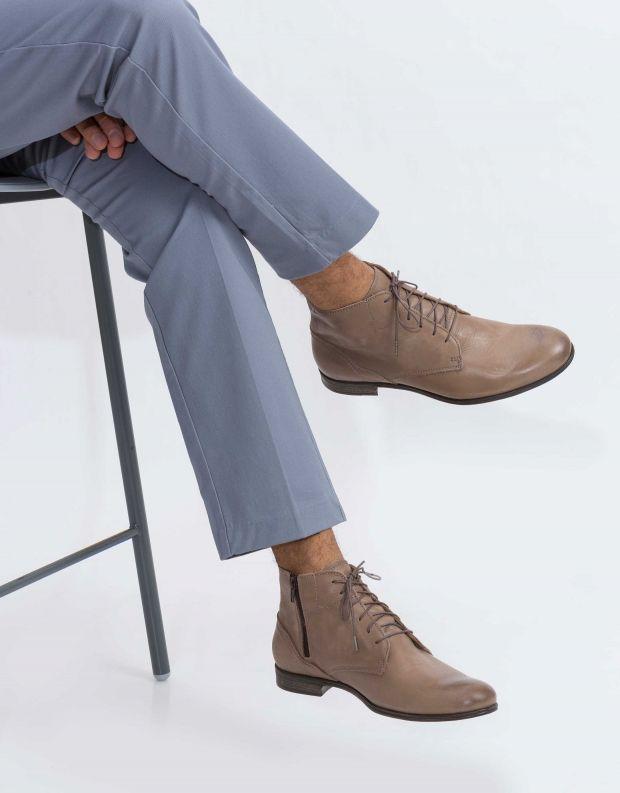 נעלי גברים - Sneaky Steve - נעל  DIRTY MID - אפור