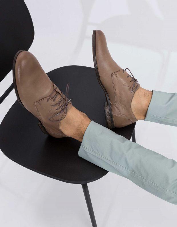 נעלי גברים - Sneaky Steve - נעל DIRTY LOW - אפור