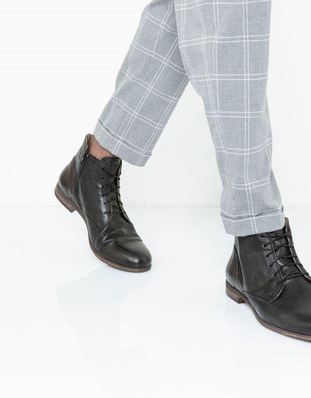 נעלי גברים - Sneaky Steve - נעל  DIRTY MID - שחור