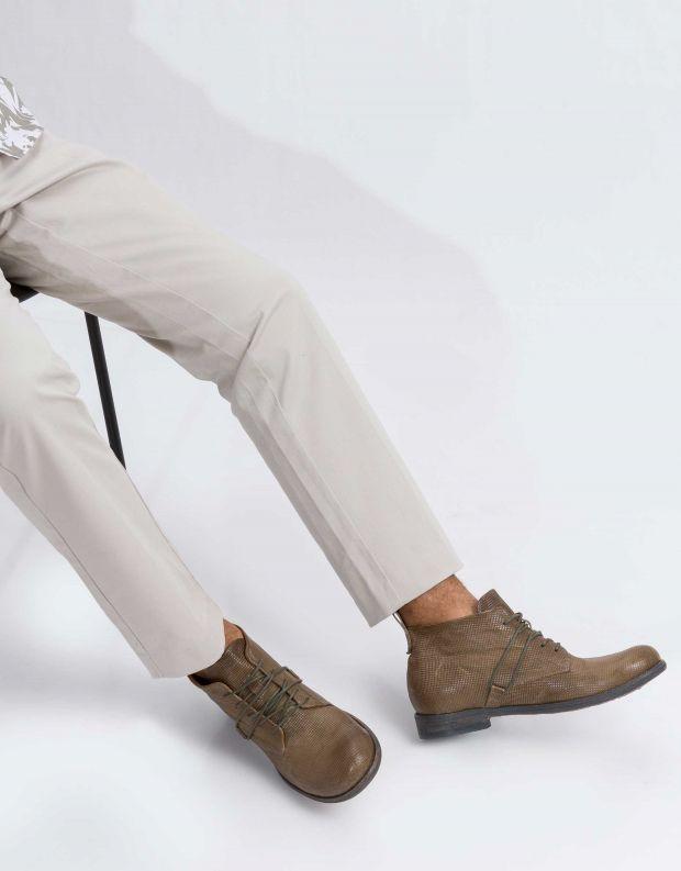 נעלי גברים - A.S. 98 - נעל TRY - זית