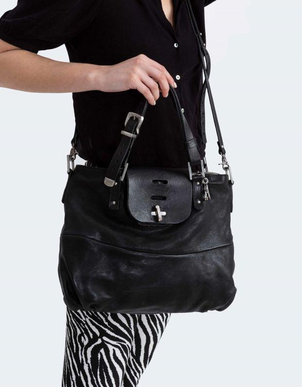 נעלי נשים - A.S. 98 - תיק מנעול - שחור