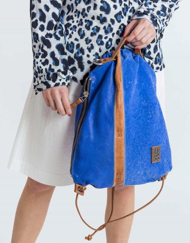 נעלי נשים - A.S. 98 - תיק גב שק קטן - כחול