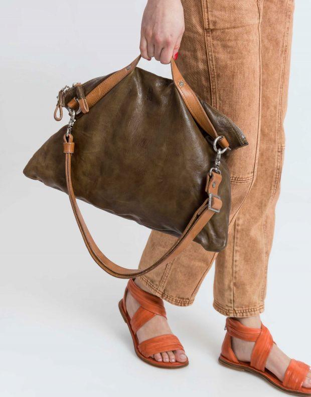 נעלי נשים - A.S. 98 - תיק לולאות - זית