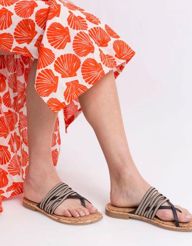 נעלי נשים - NR Rapisardi - קבקב BACIO - שחור