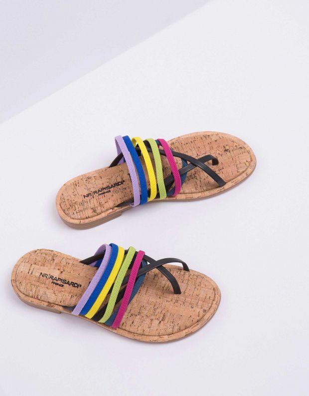 נעלי נשים - NR Rapisardi - קבקב BACIO - צבעוני