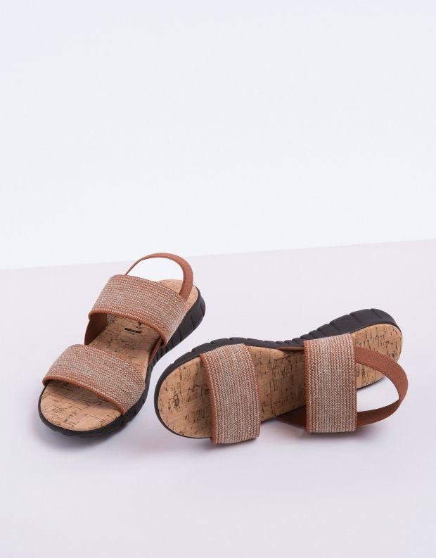 נעלי נשים - NR Rapisardi - סנדל LULU - חום