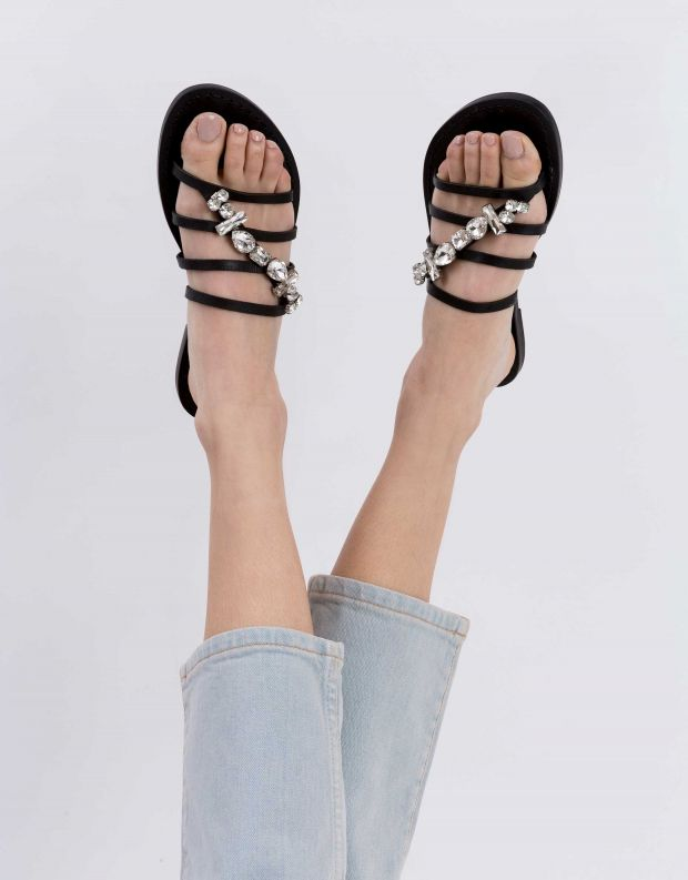 נעלי נשים - Schutz - קבקב LAURA - שחור