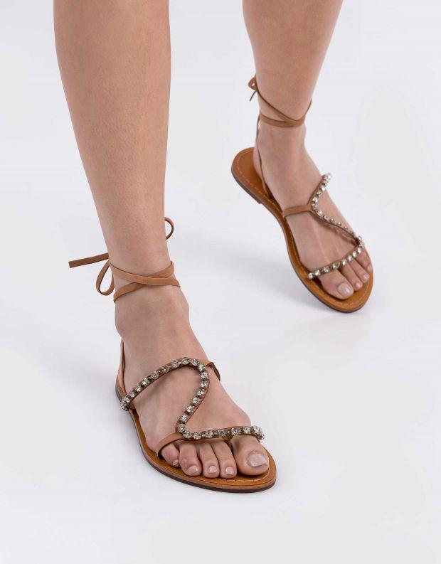 נעלי נשים - Schutz - סנדל KAMILLY - בז'