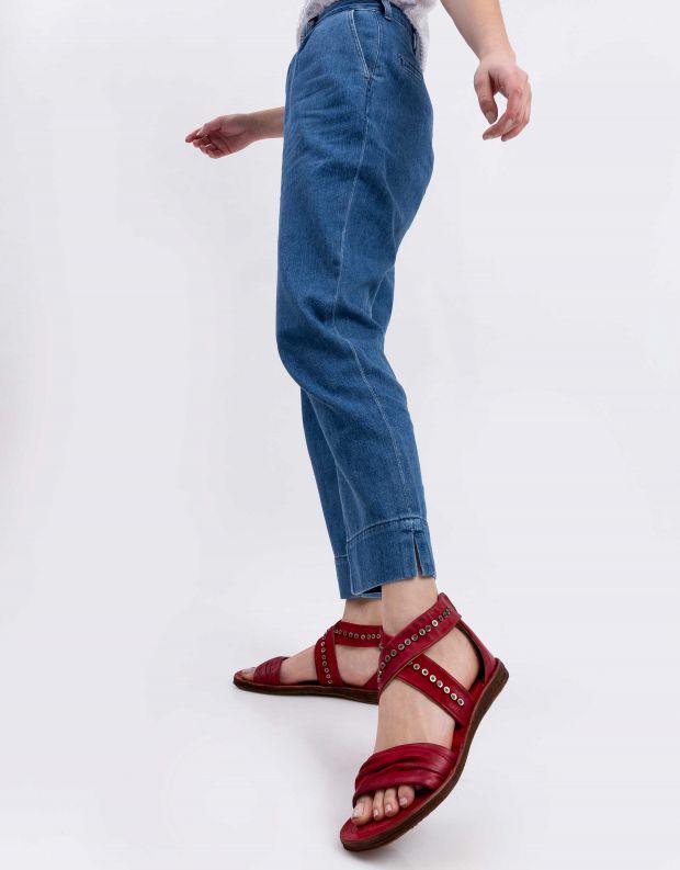 נעלי נשים - A.S. 98 - סנדל RAMOS X ניטים - אדום