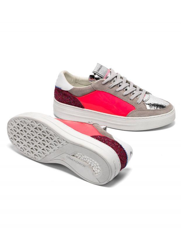נעלי נשים - Crime London - סניקרס MARS PATENT - ורוד