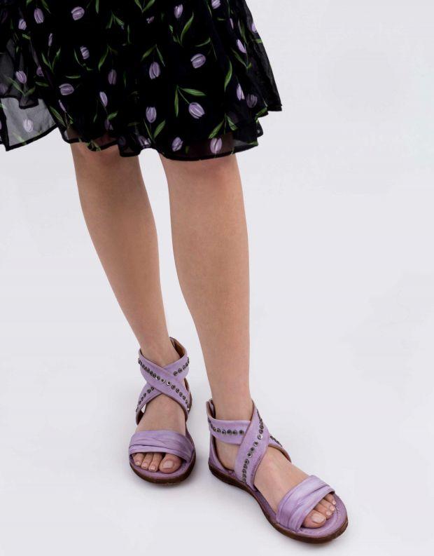 נעלי נשים - A.S. 98 - סנדל RAMOS X ניטים - לילך