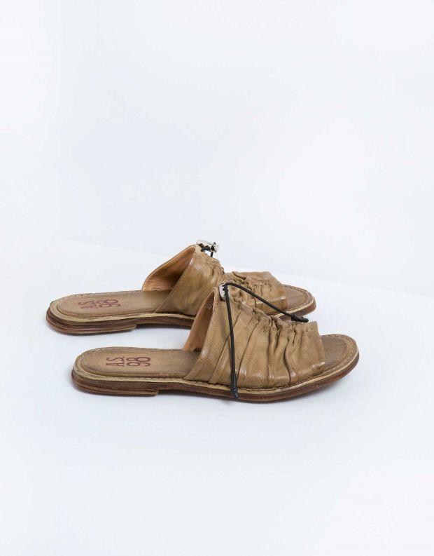 נעלי נשים - A.S. 98 - קבקב MALIBU כיווצים - זית