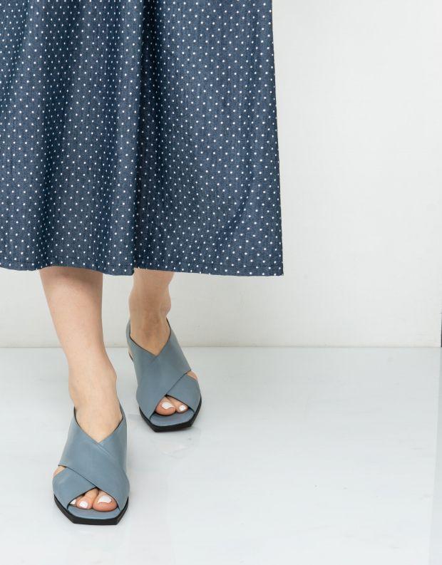 נעלי נשים - Yuko Imanishi - נעלי KURUMI - תכלת