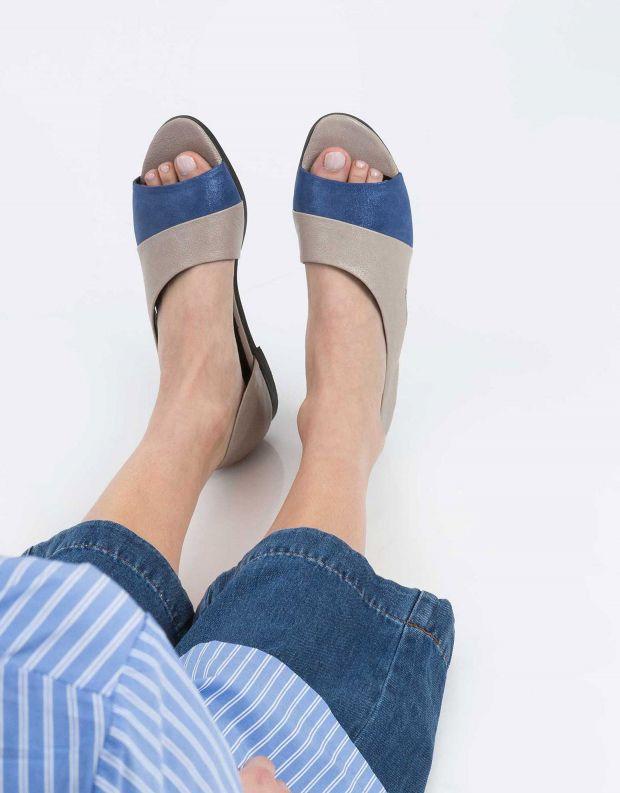 נעלי נשים - Yuko Imanishi - נעל TORI - אפור   כחול