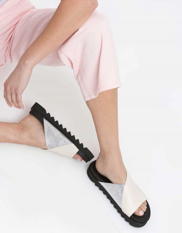 נעלי נשים - Yuko Imanishi - קבקב MASAKI - לבן   כסף