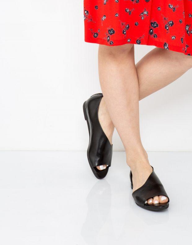 נעלי נשים - Yuko Imanishi - נעל פתוחה RIKU - שחור