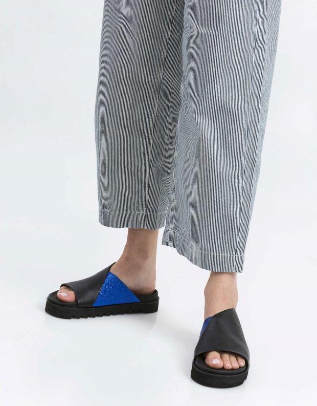 נעלי נשים - Yuko Imanishi - קבקב MASAKI - שחור כחול
