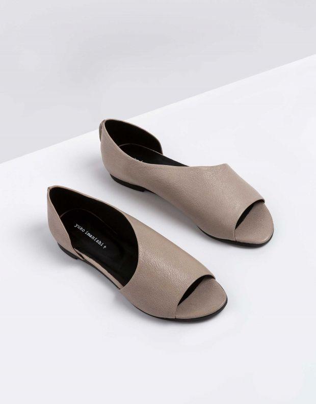 נעלי נשים - Yuko Imanishi - נעל פתוחה RIKU - אפור