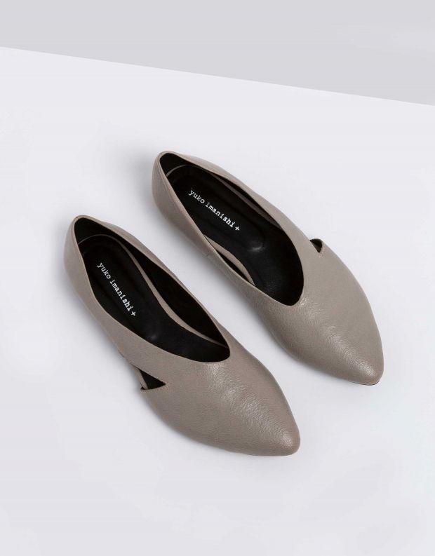 נעלי נשים - Yuko Imanishi - סירה KODUE - אפור