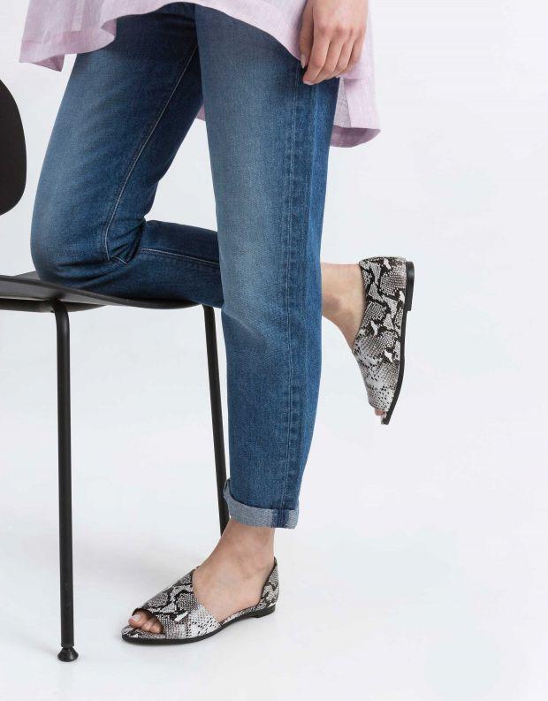 נעלי נשים - Yuko Imanishi - נעל פתוחה RIKU - נחש
