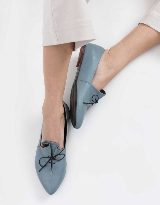 נעלי נשים - Yuko Imanishi - נעלי סירה RINA - תכלת