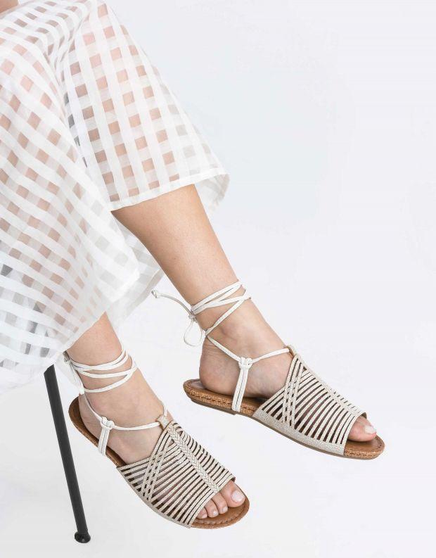 נעלי נשים - Klub Nico - סנדל GLORY - לבן