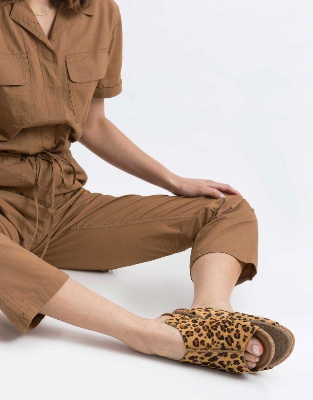 נעלי נשים - Klub Nico - קבקב GRACEY LEOPARD - זהב