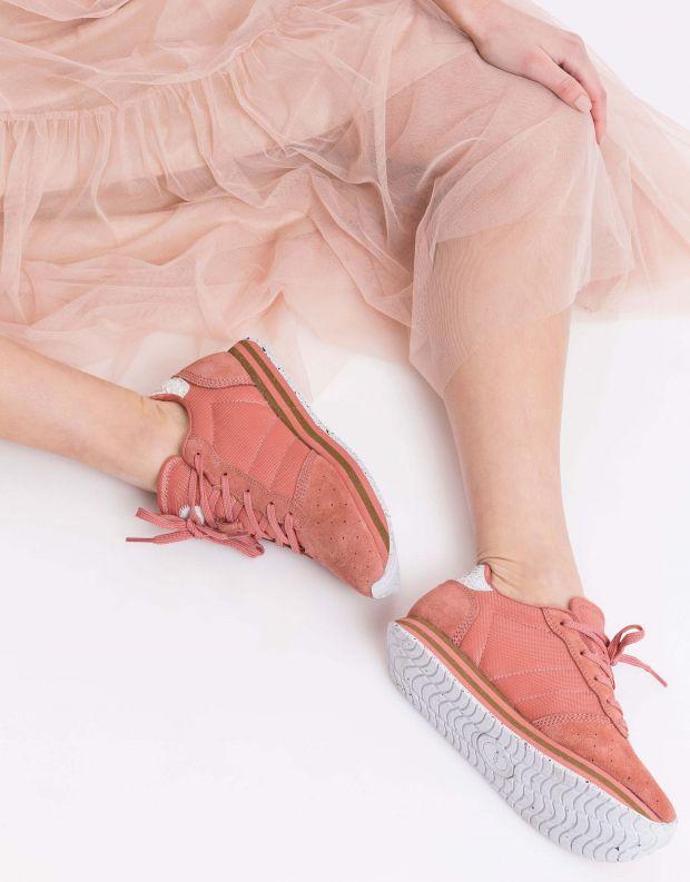 נעלי נשים - Woden - סניקרס ALISON - ורוד עתיק