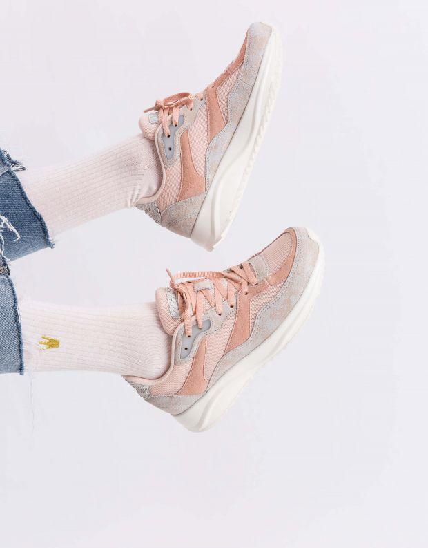 נעלי נשים - Woden - סניקרס SOPHIE BREEZE - פודרה