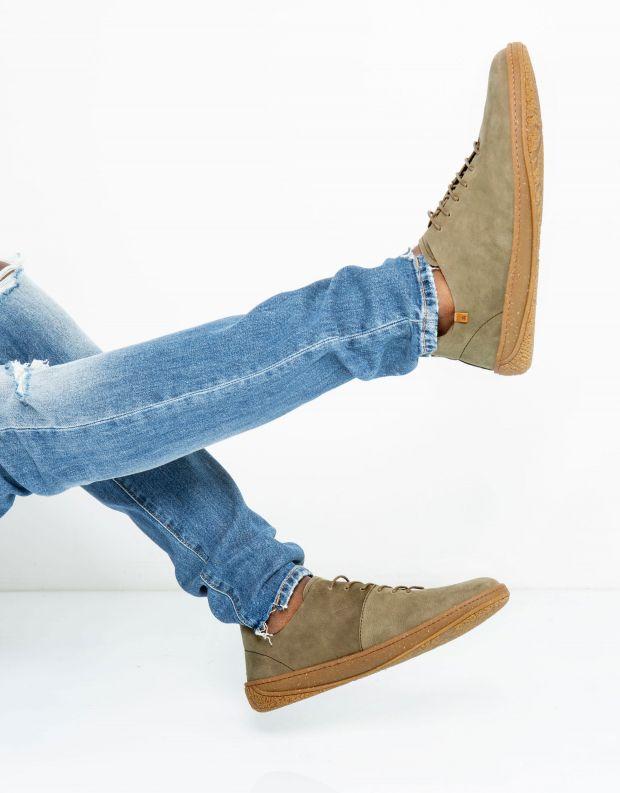 נעלי גברים - El Naturalista - נעל AMAZONAS - חאקי