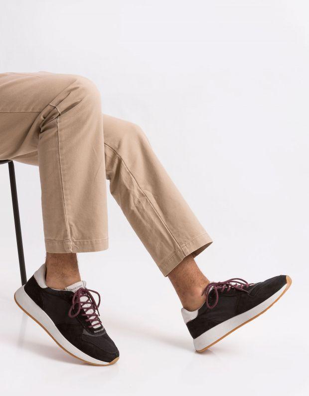 נעלי גברים - Crime London - סניקרס LUNAR B - שחור