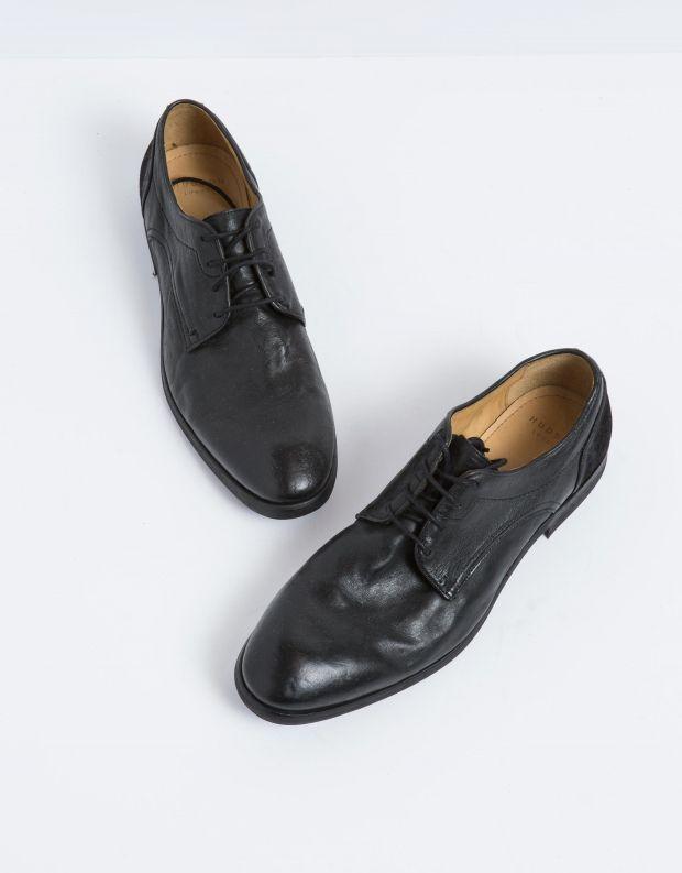 נעלי גברים - Hudson - נעל DREKER עור - שחור