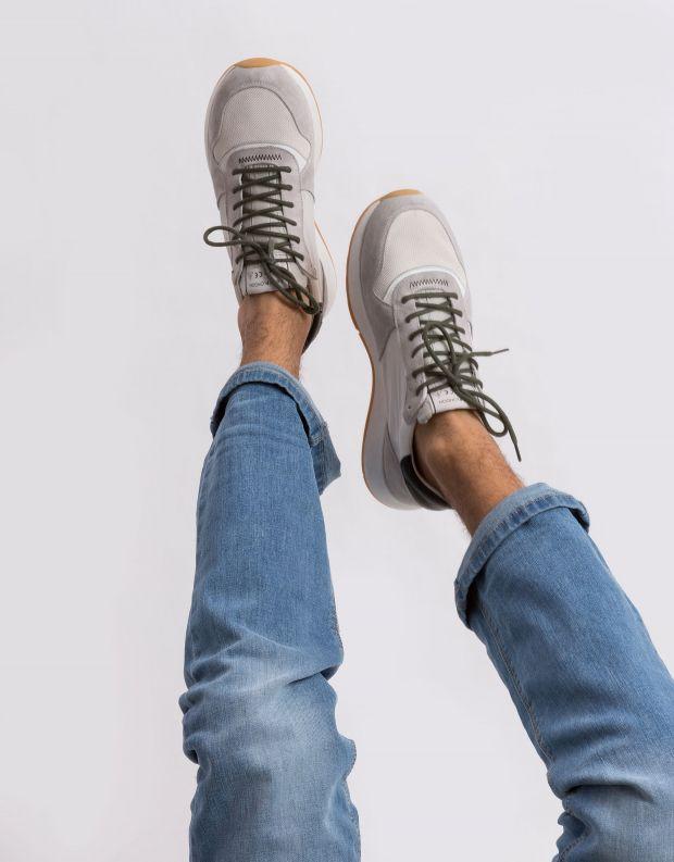נעלי גברים - Crime London - סניקרס LUNAR B - אופוויט