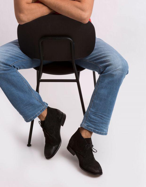 נעלי גברים - Hudson - נעל BRYSON - שחור