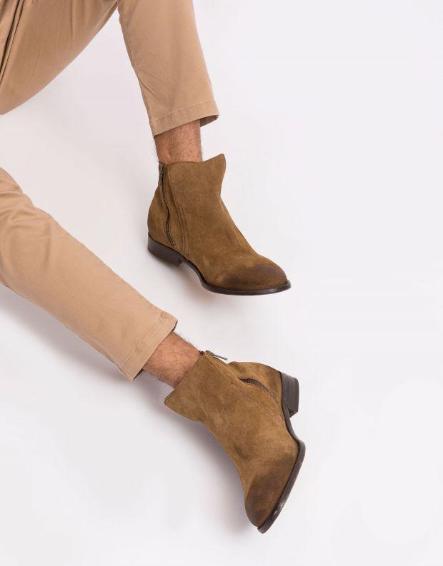 נעלי גברים - Hudson - מגפון ASH - חום