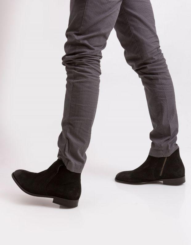 נעלי גברים - Hudson - מגפון ASH - שחור