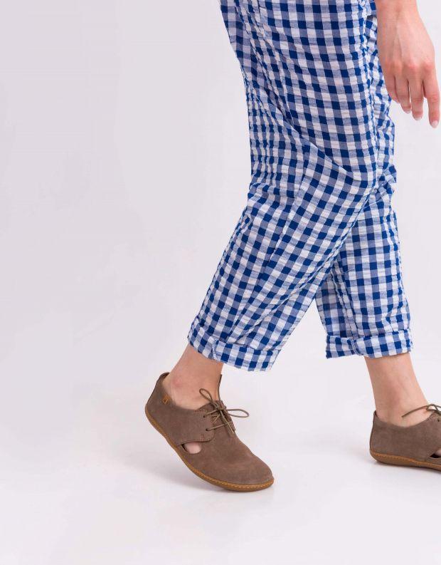 נעלי נשים - El Naturalista - נעלי עור EL VIAJERO - חום בהיר