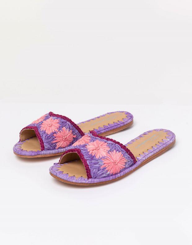 נעלי נשים - Jeffrey Campbell - קבקב DANE צבעוני - סגול