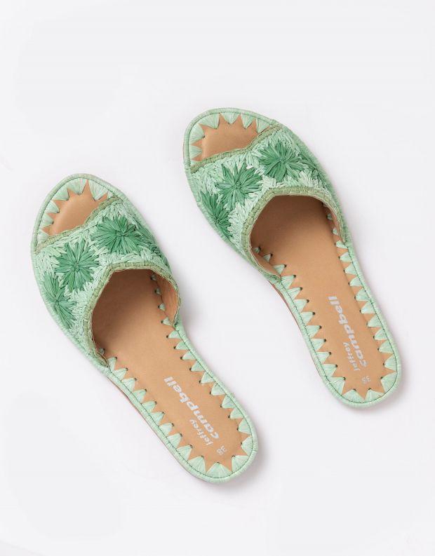נעלי נשים - Jeffrey Campbell - קבקב DANE צבעוני - ירוק