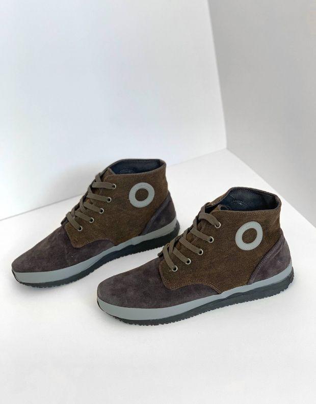 נעלי גברים - Aro - סניקרס גבוהות JAQ - אפור